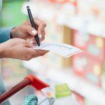 Fazer uma lista das compras